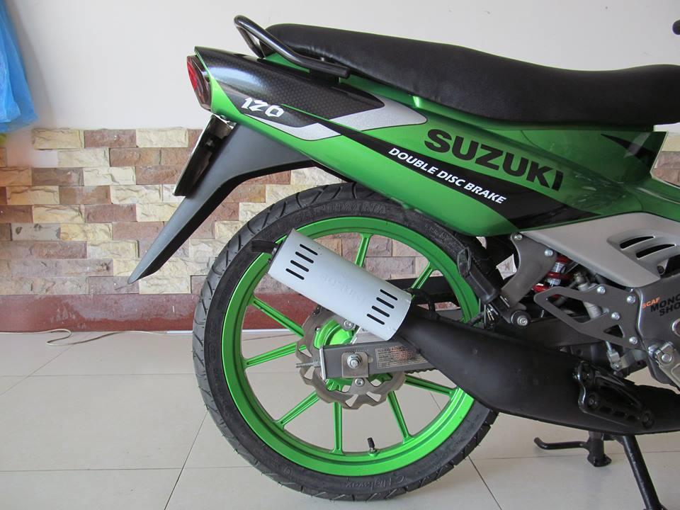Ngam con Suzuki satria sport moi keng tu trong ra ngoai - 5