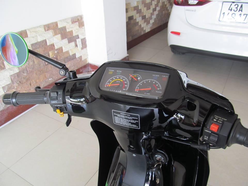 Ngam con Suzuki satria sport moi keng tu trong ra ngoai - 8