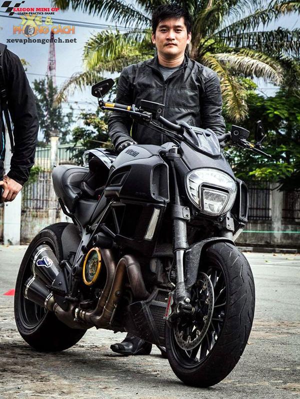Nhung trai nghiem thu vi ve Ducati Diavel va Monster 796 cua Viet kieu My - 4