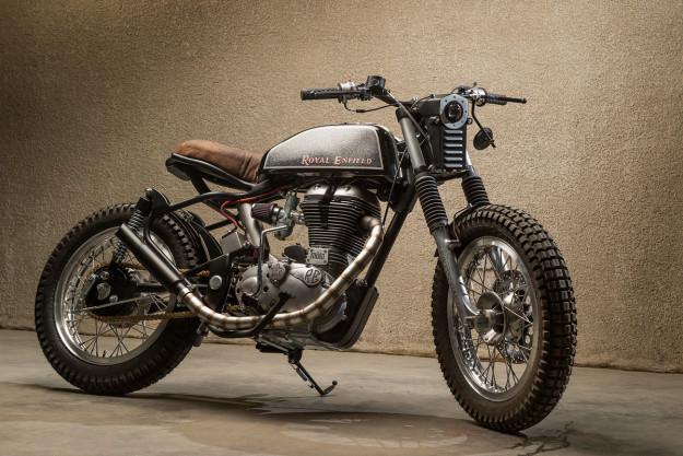 Royal Enfield Bullet hang khung tu xuong do Moto Dubai