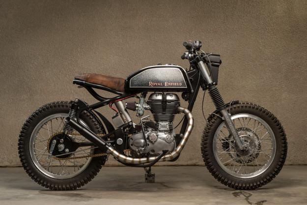 Royal Enfield Bullet hang khung tu xuong do Moto Dubai - 2