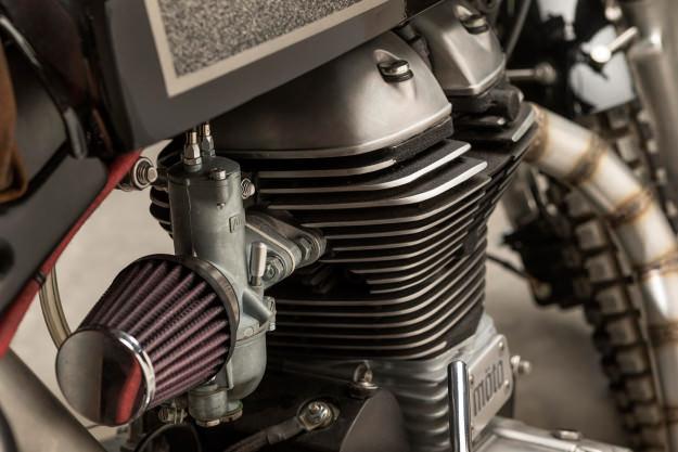 Royal Enfield Bullet hang khung tu xuong do Moto Dubai - 5