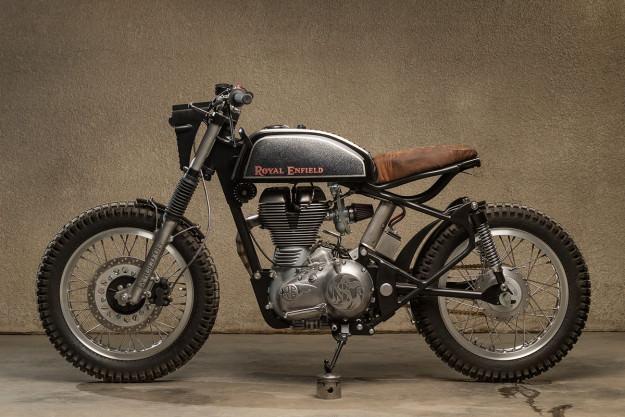 Royal Enfield Bullet hang khung tu xuong do Moto Dubai - 6