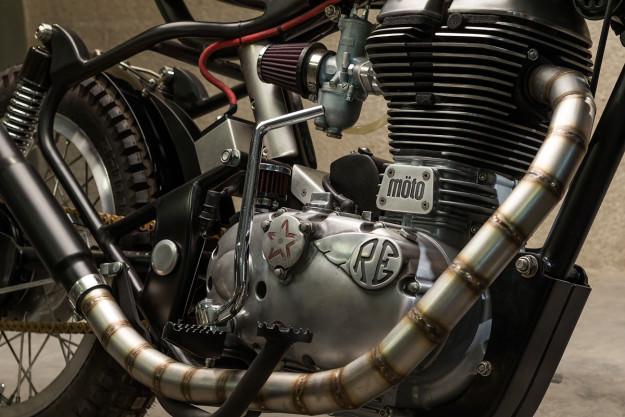 Royal Enfield Bullet hang khung tu xuong do Moto Dubai - 3