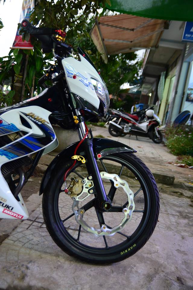 Satria F150 do day phong cach cua biker Viet - 3