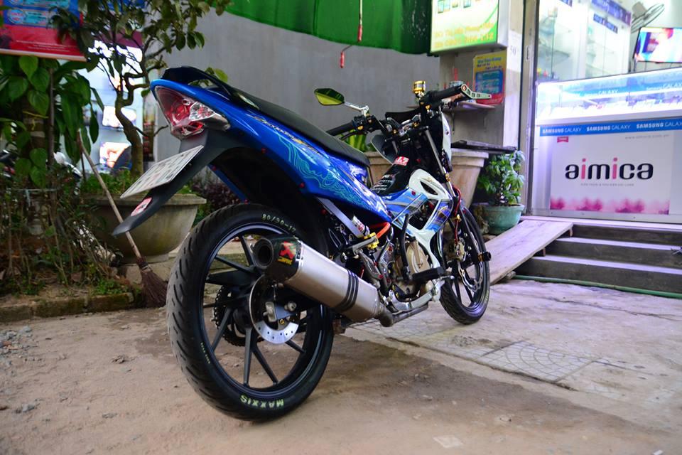 Satria F150 do day phong cach cua biker Viet - 4