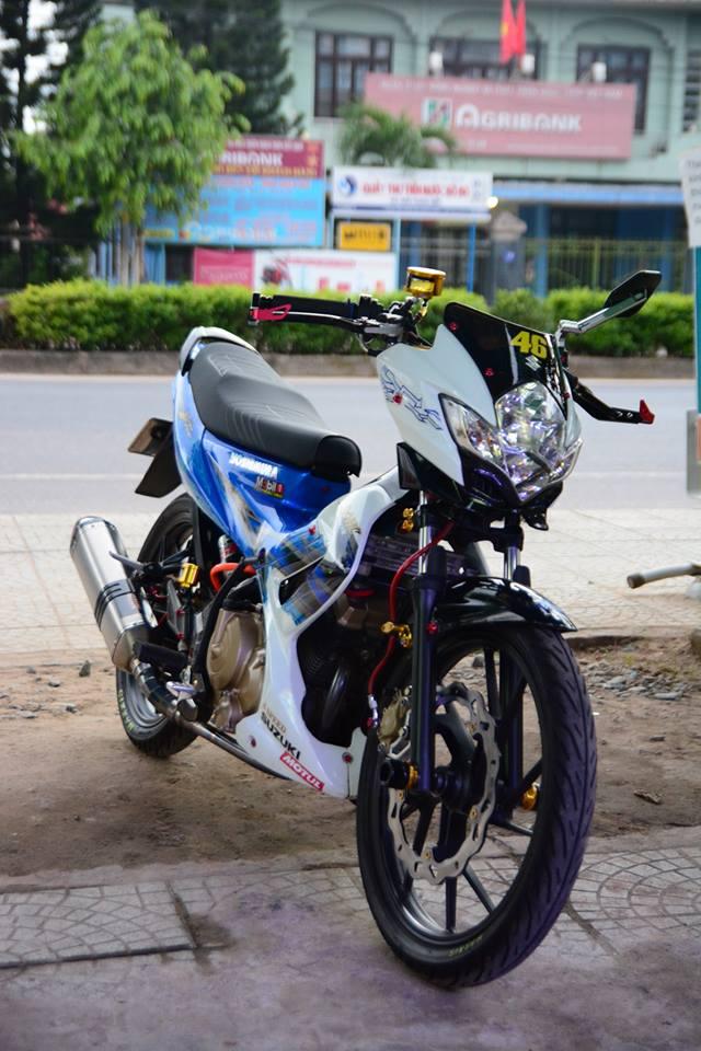 Satria F150 do day phong cach cua biker Viet - 5