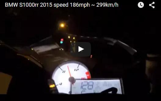 Sieu Moto BMW S1000rr 2015 can moc 186mph 299kmh tren cao toc