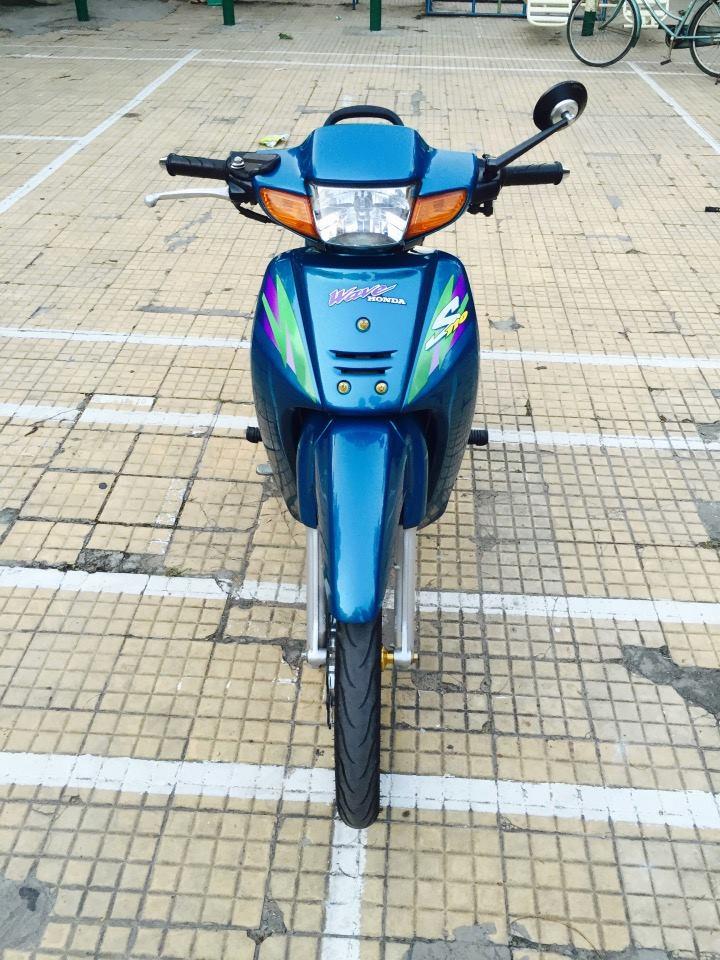 Soc voi gia con Wave thai 110cc ban lai voi gia 28 trieu dong - 2