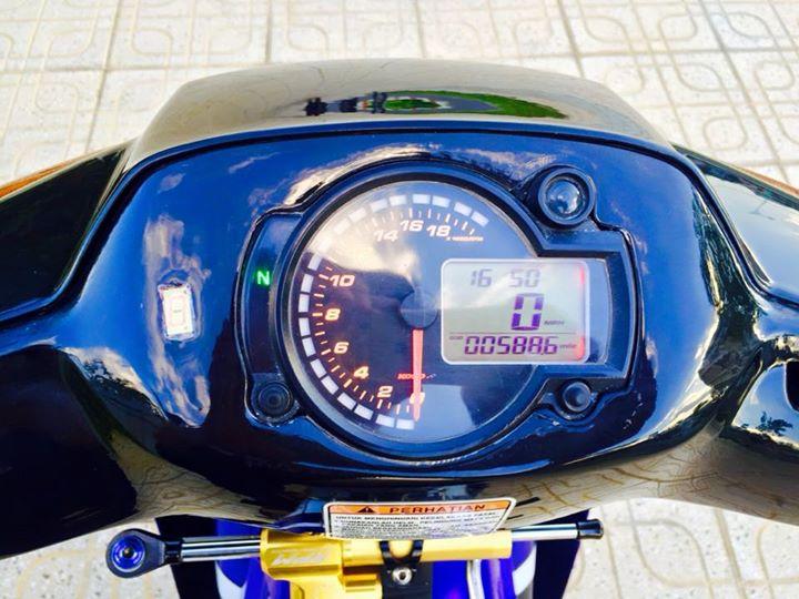 Su Xipo do dong ho Koso X1R tro luc RPM vo Michelin - 3