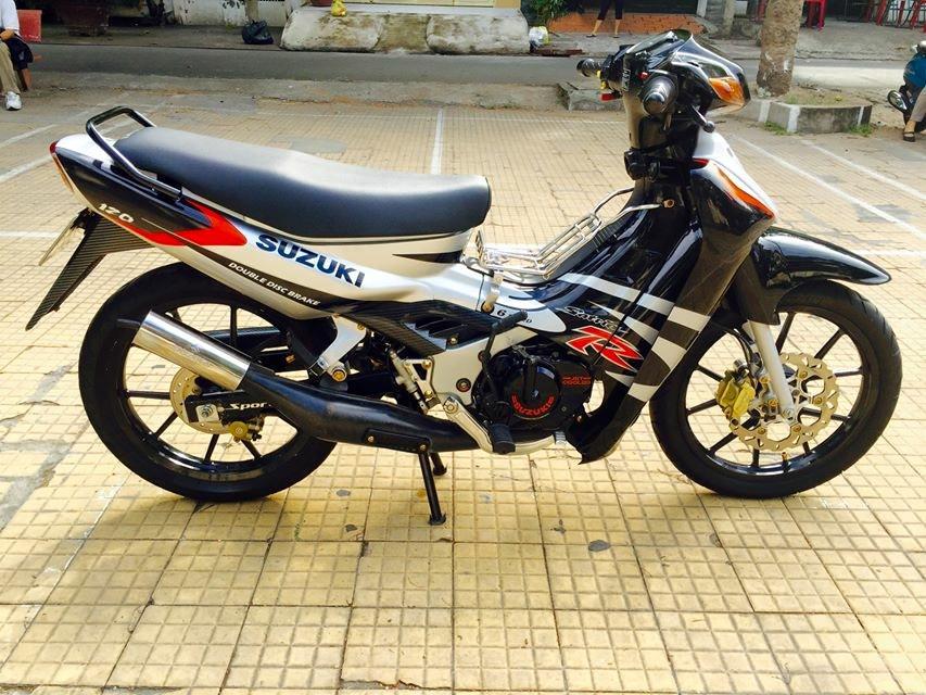 Suzuki Sport 120 do duoc rao ban voi gia 135 trieu