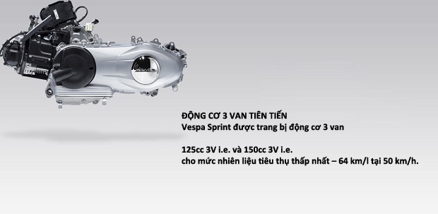 Toan Quoc VESPA SPRINT Chinh Hang Gia Tot - 8