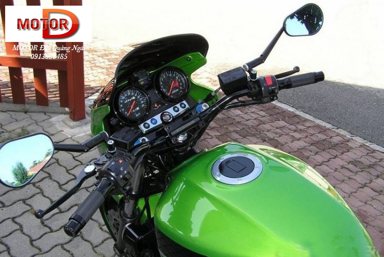 Trum Nakedbike Kawasaki Luc si co bap ZRX1200 DAEG tren duong ve Ha Noi - 9