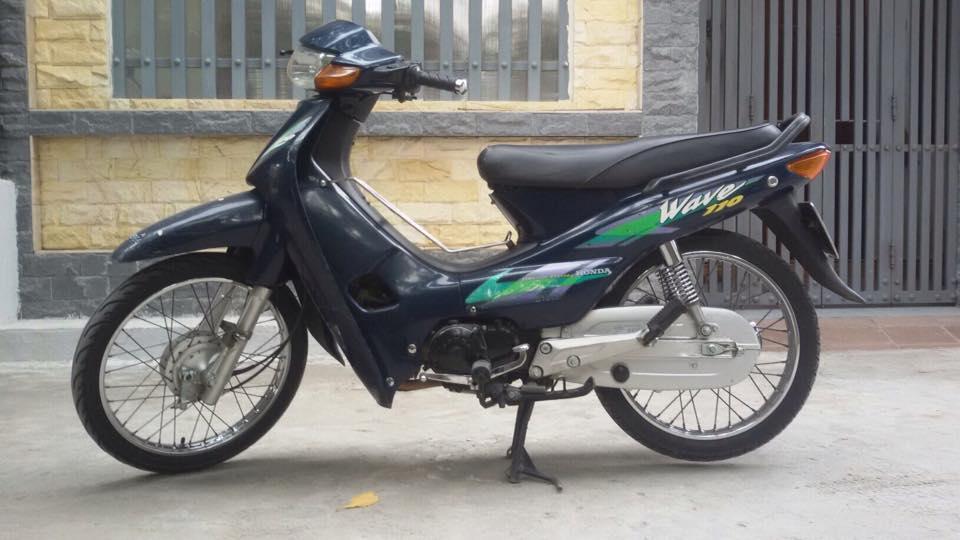 Xe Wave Thai 110 bien Ha Noi xe chinh chu - 5