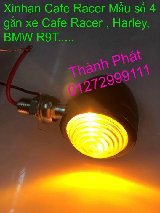 Xinhan kieu Rizoma Barracuda OXFORD cho xe PKL va xe Nho Den LED kieu den Xenon Domi Bong OSR - 19
