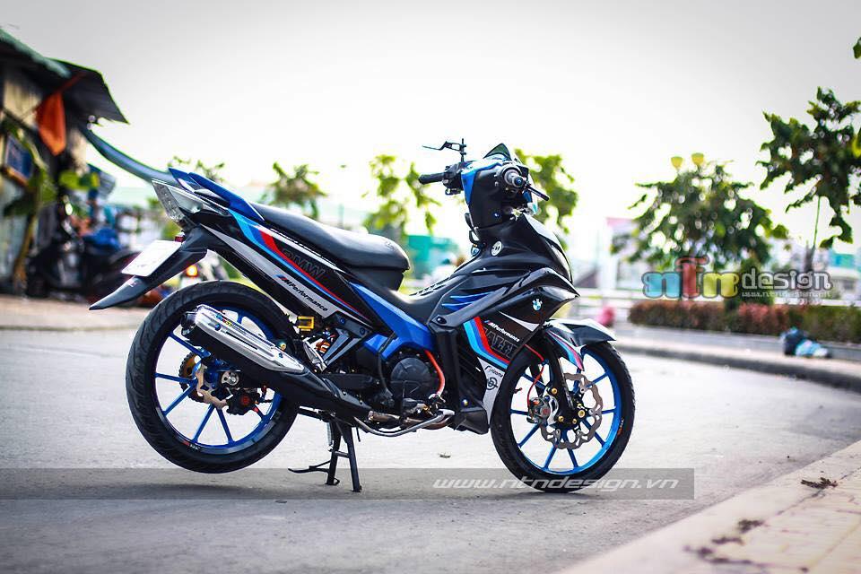 Yamaha exciter phien ban BMW MPerformance s135rr
