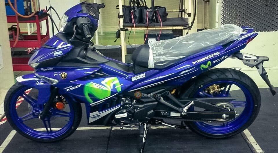 Yamaha Exciter 150 M 2016 chuan bi tung ra thi truong Viet Nam