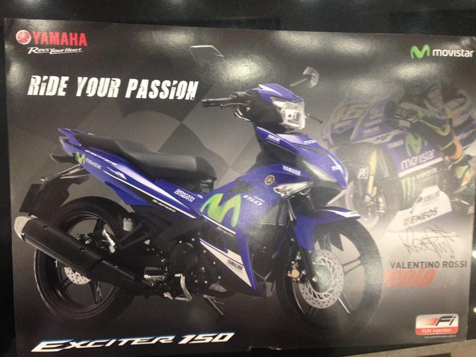 Yamaha Exciter 150 M 2016 chuan bi tung ra thi truong Viet Nam - 3