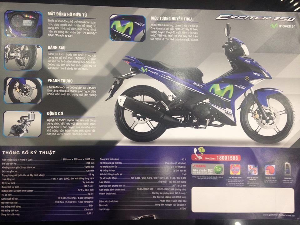 Yamaha Exciter 150 M 2016 chuan bi tung ra thi truong Viet Nam - 4