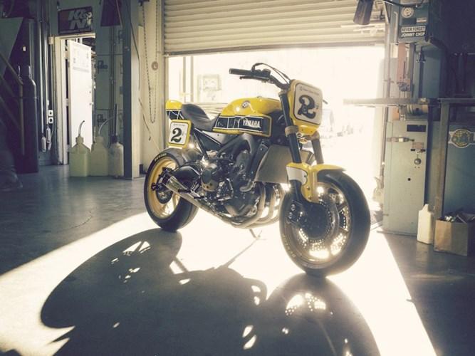 Yamaha MT09 do theo phong cach hoai co tu hang do Roland Sands