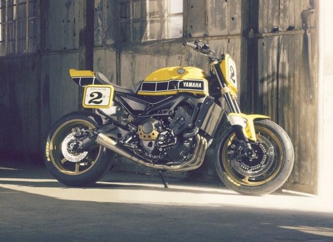 Yamaha MT09 do theo phong cach hoai co tu hang do Roland Sands - 2