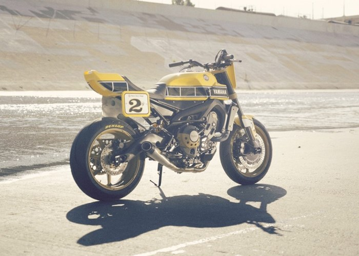 Yamaha MT09 do theo phong cach hoai co tu hang do Roland Sands - 3