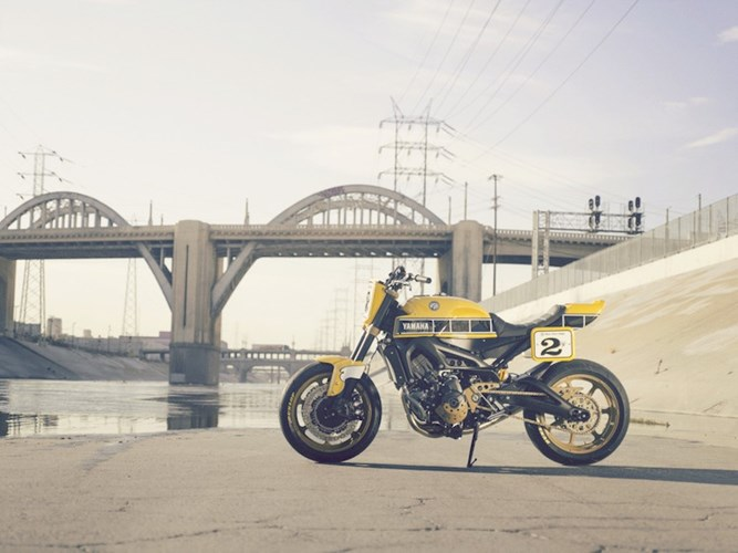 Yamaha MT09 do theo phong cach hoai co tu hang do Roland Sands - 10