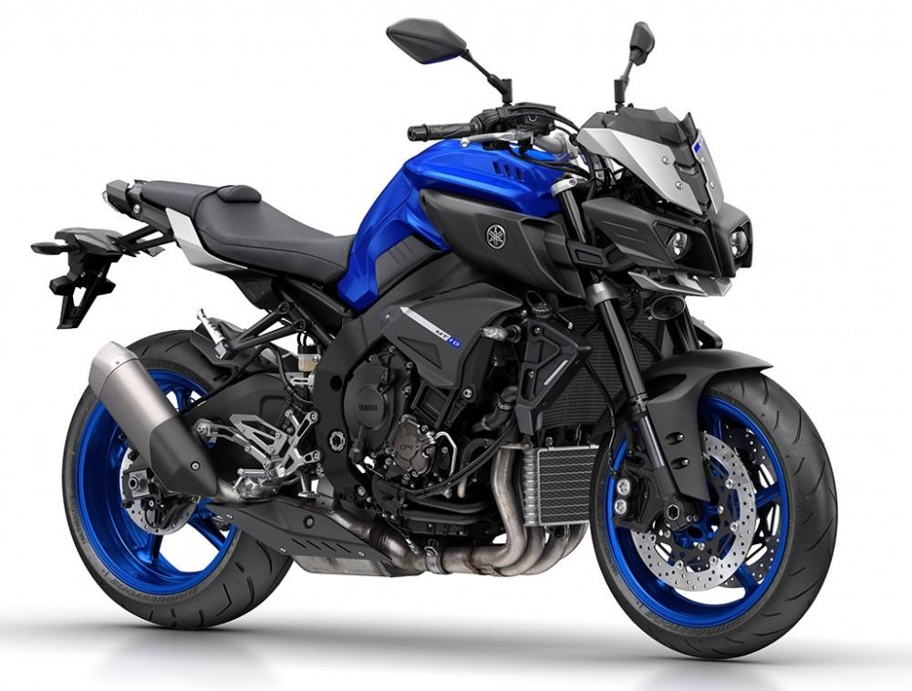 Yamaha MT10 Dong nakedbike R1 vua duoc gioi thieu