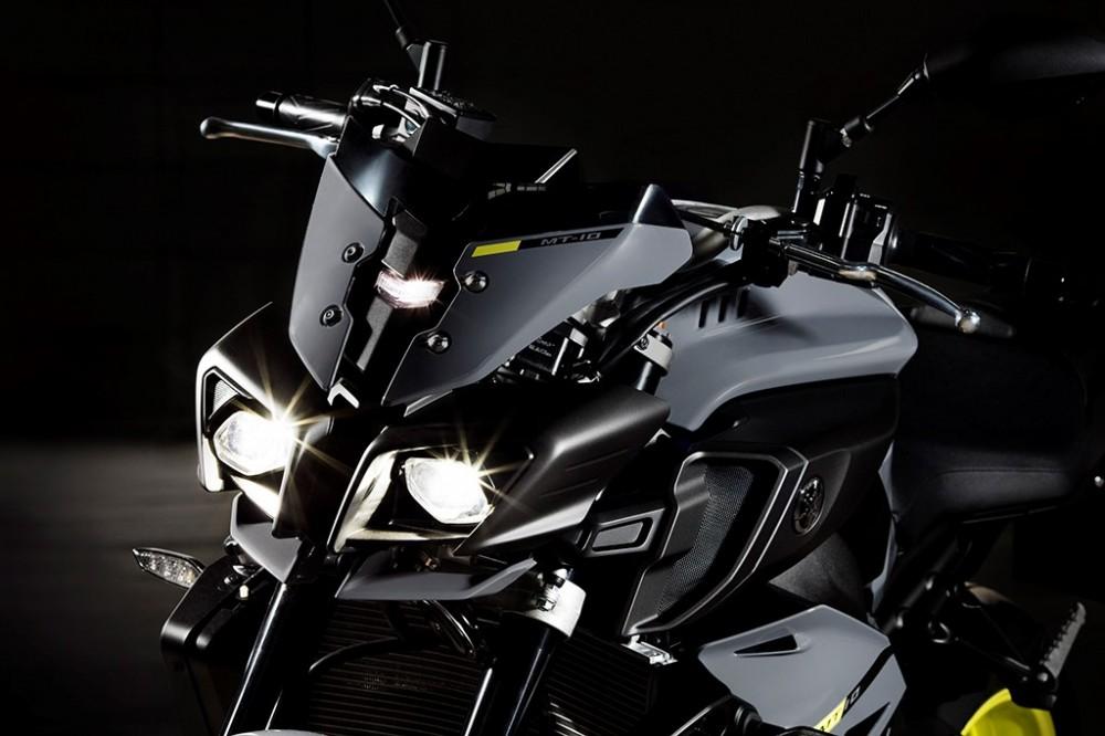 Yamaha MT10 Dong nakedbike R1 vua duoc gioi thieu - 2