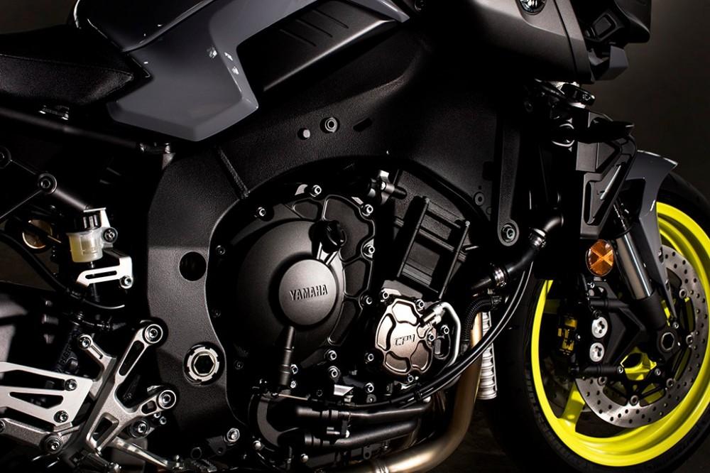 Yamaha MT10 Dong nakedbike R1 vua duoc gioi thieu - 5