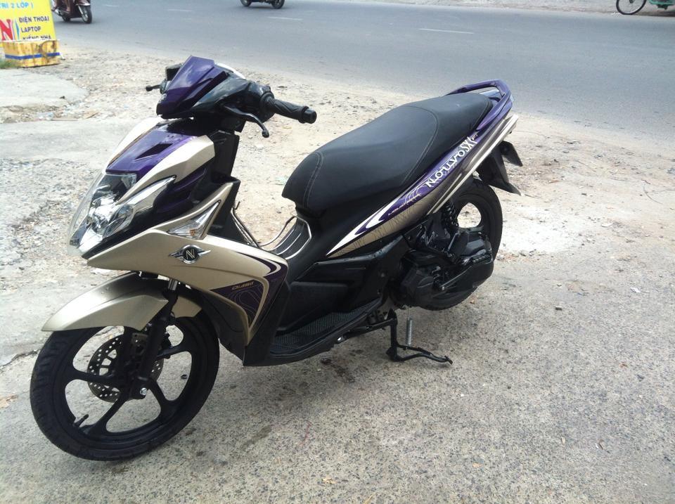 Yamaha Nouvo Sx 5 doi cuoi 2012 mau bac tim xe dep zin bstpchinh chu