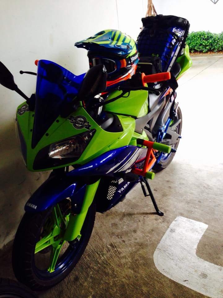 Yamaha R15 do phien ban Noi Bat - 3