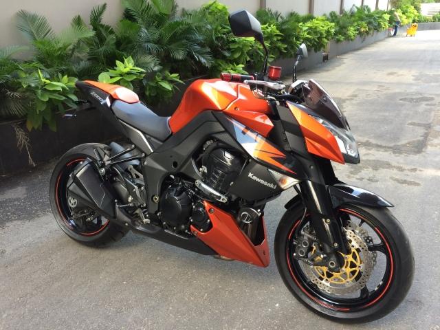 Ban Kawasaki z1000 2012 - 2