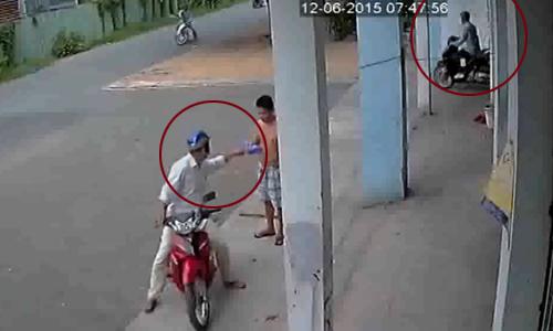 Bao ve xem lai camera Oi That cay dang ao mua 10000 dong doi xe SH - 4