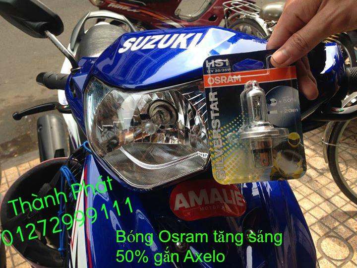 Bong den OSRAM Hang chinh Hang cua Duc tang anh sang den 110 90 50 Anh sang Xanh Xenon mau Va - 19