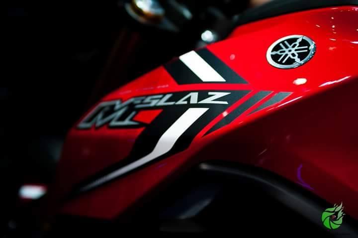 Can canh Yamaha MSlaz tai Motor Expo Show Thai Lan
