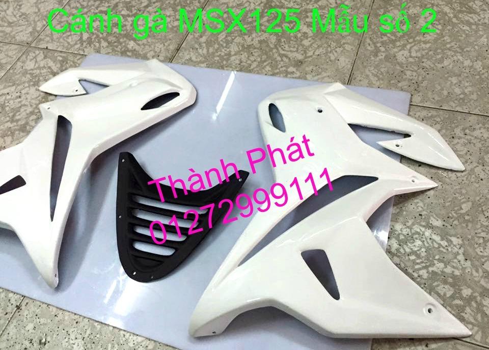 Do choi Honda MSX 125 tu A Z Po do Kinh gio Mo cay Chan bun sau de truoc Ducati Khung suo - 30