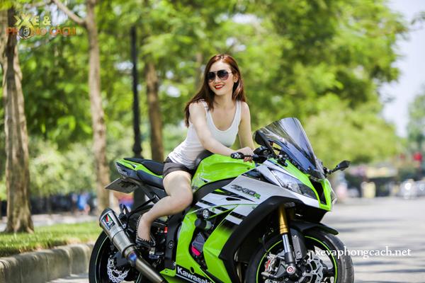 Chan dai xinh dep do dang cung Kawasaki Ninja ZX10R 2015 - 9