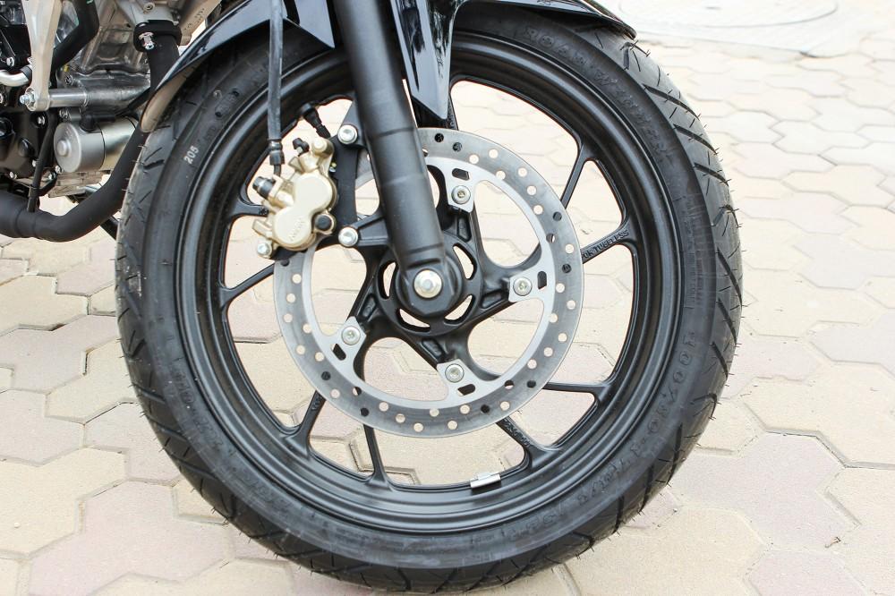 Chi tiet Honda CB150R 2016 tai Ha Noi - 9