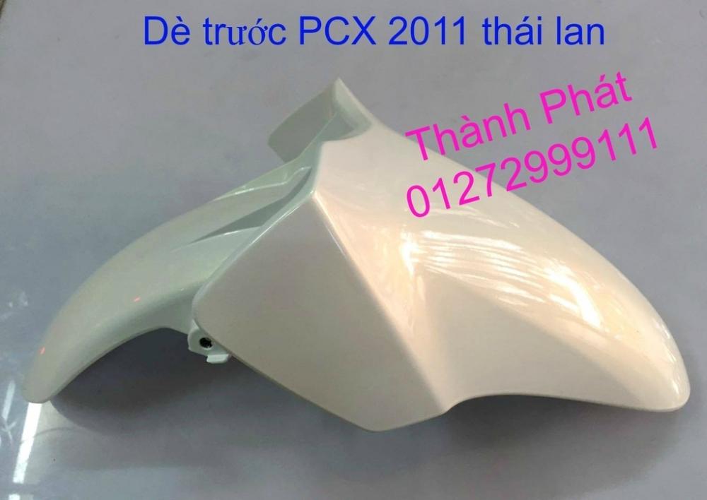 Chuyen Phu tung Zin Honda PCX Thailan va VN doi 2011 doi 2014 day du het do mu va do may Gia tot u - 4