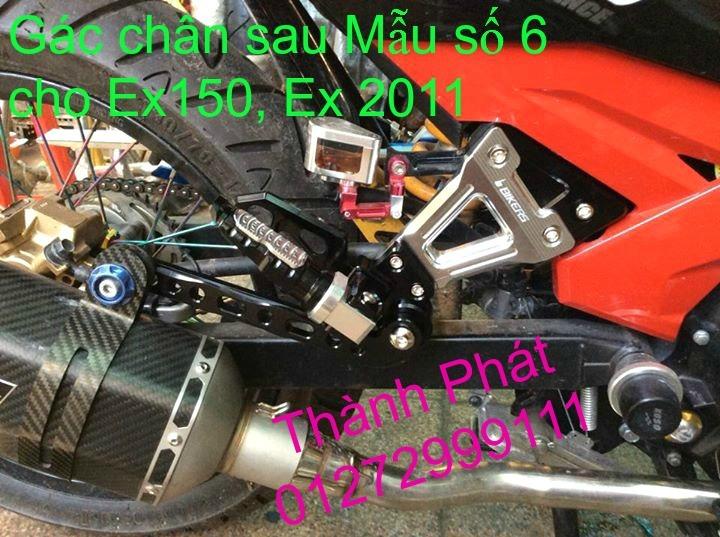 Do choi Exciter 150 tu A Z Po do Chan bun sau kieng kieu Bao tay Tay thang Xinhan kieu S - 22