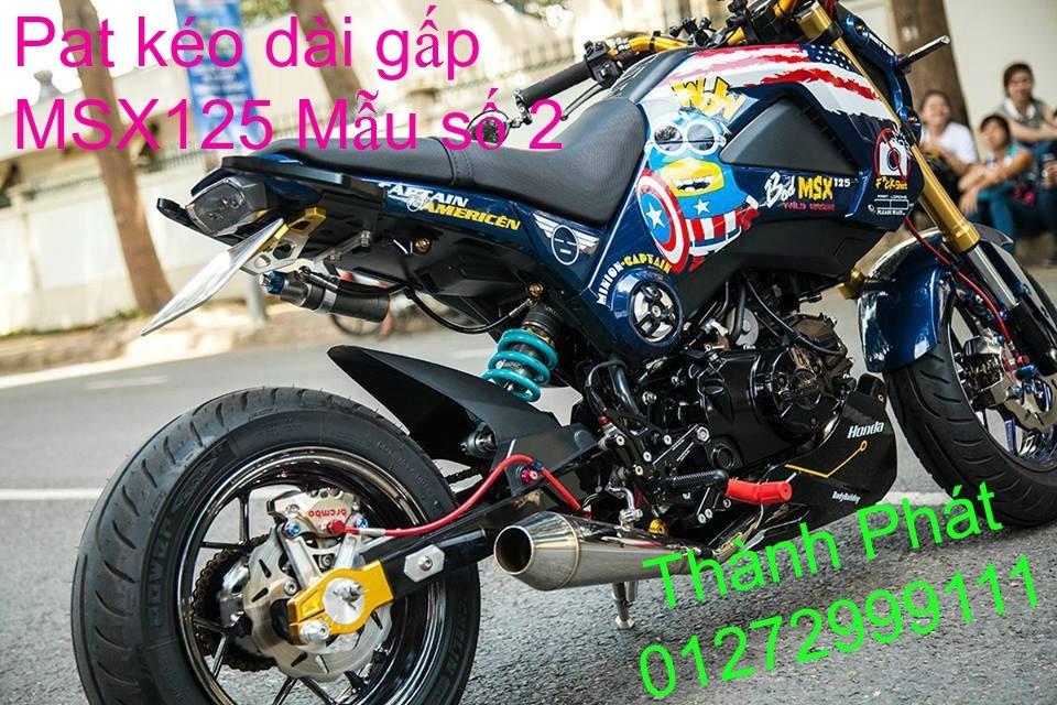 Do choi Honda MSX 125 tu A Z Po do Kinh gio Mo cay Chan bun sau de truoc Ducati Khung suo - 33