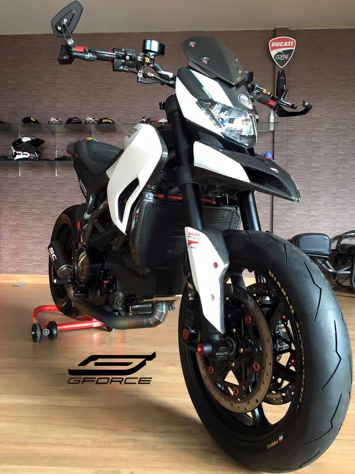 Ducati Hypermotard 821 phien ban cuc chat tu GForce - 2
