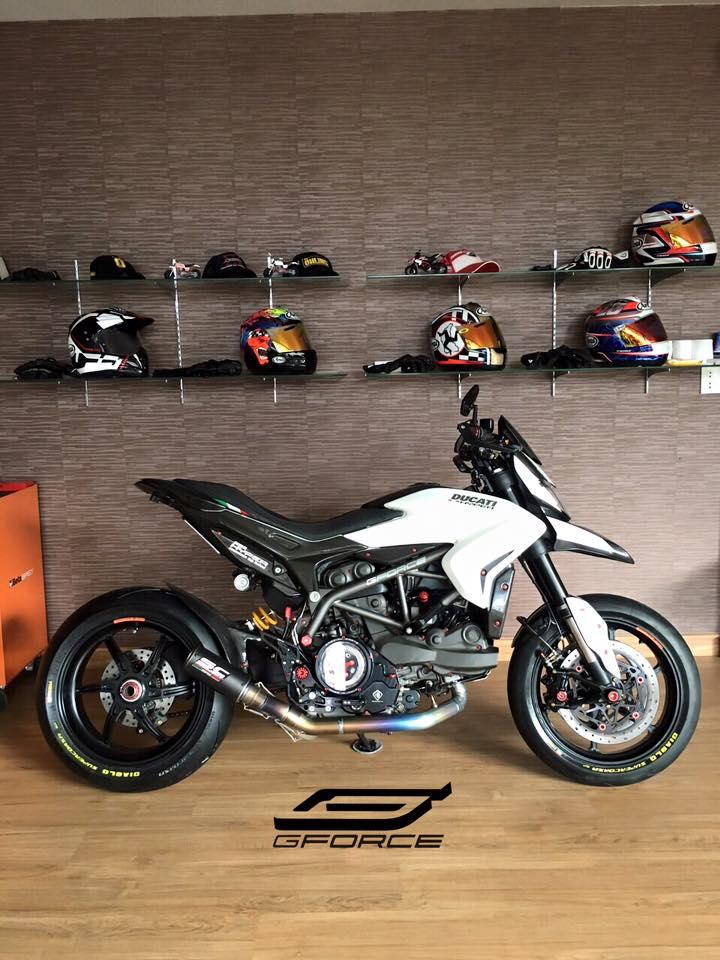 Ducati Hypermotard 821 phien ban cuc chat tu GForce - 4