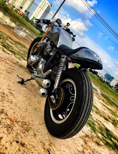 Honda CB750 cafe racer do cuc chat qua ban tay tho Viet - 7
