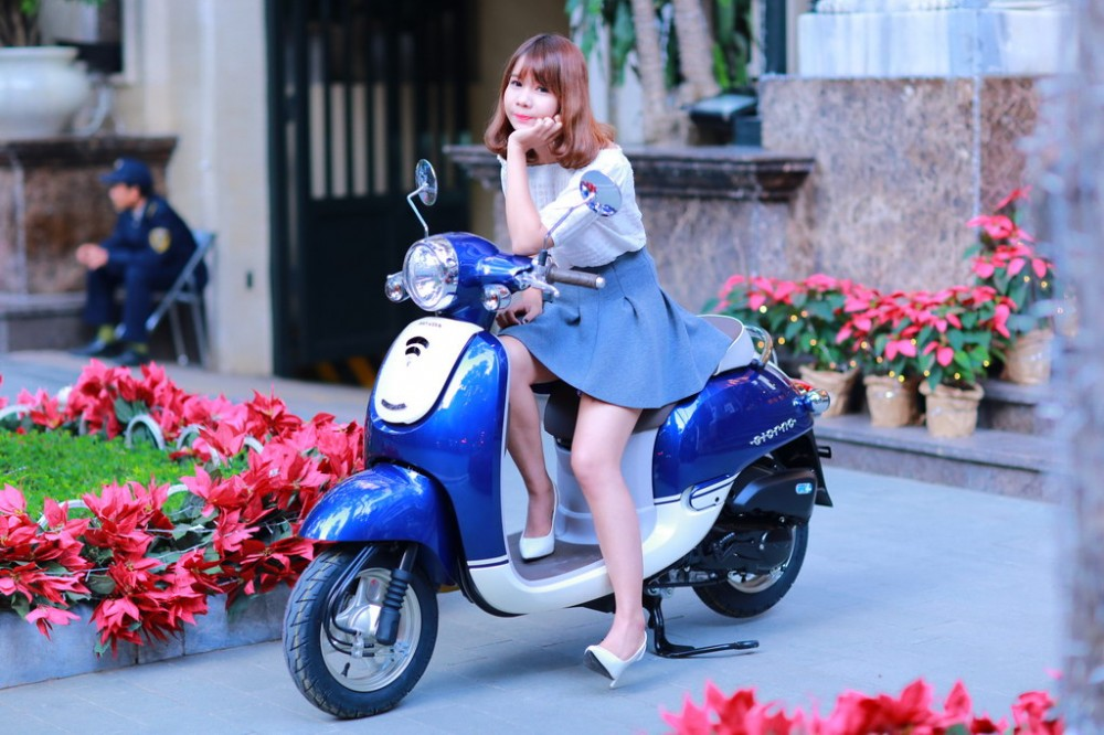 Honda Giorno 2015 mau xe tay ga danh cho nu sinh Viet - 3
