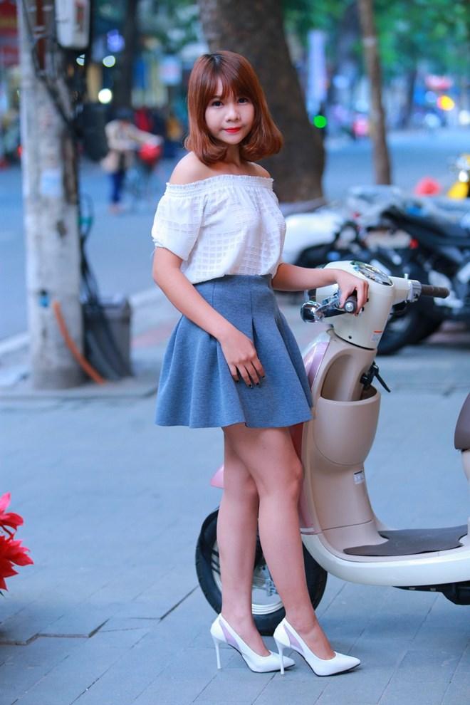 Honda Giorno 2015 mau xe tay ga danh cho nu sinh Viet - 9