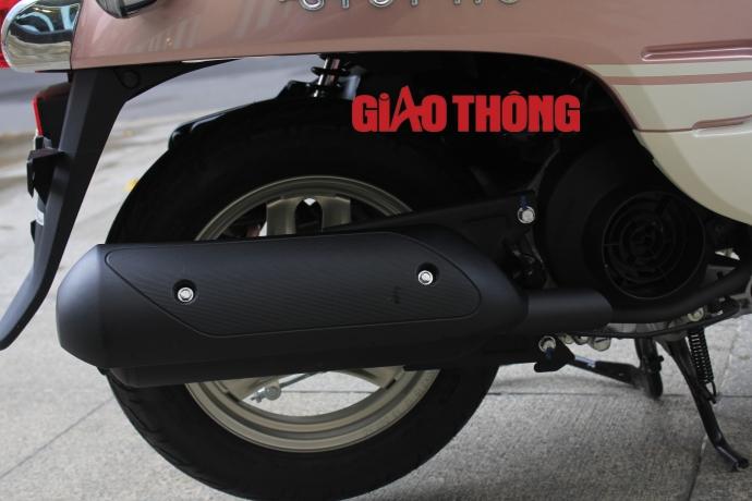 Honda Giorno 2015 xe tay ga danh cho nguoi khong co bang lai - 12