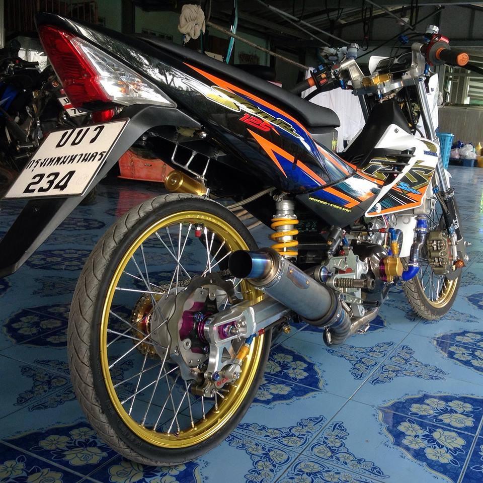 Honda Sonic do khung day phong cach cua biker Thai Lan - 6