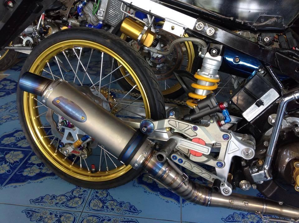 Honda Sonic do khung day phong cach cua biker Thai Lan - 7